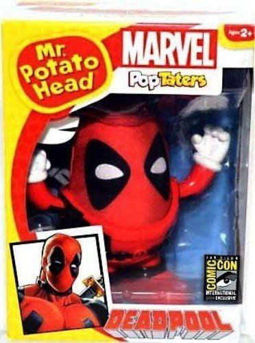 Mr. Potato Head Deadpool Collectible Figure (Collectible Potato Head)
