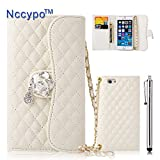 iPhone 6 Plus Case, Nccypo Luxury Fashion PU