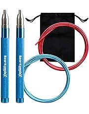 Bear KompleX HUMMER speed jump touw is geweldig voor Crossfit, Double unders, boksen, fitness en conditioning. lichtgewicht kabel en gemakkelijk verstelbare aluminium handgreep kunt u uw WOD's domineren