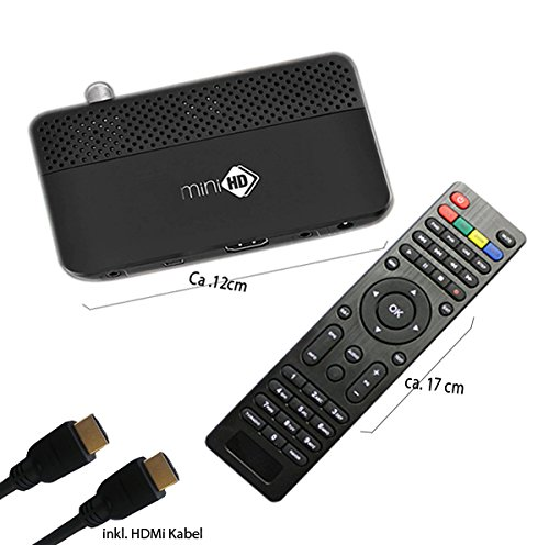 mini HD Digital Sat Receiver mit CA Kartenleser Sky USB DVB-S2 Mp3 player Hdmi mit allen HDMI fähigen Tv- Geräten kompatibel