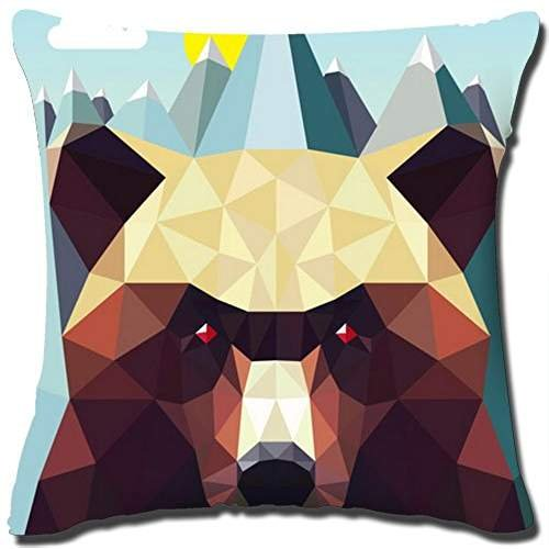 Nature Art Throw Pillow Cover Design Cotton Linen Square Dec