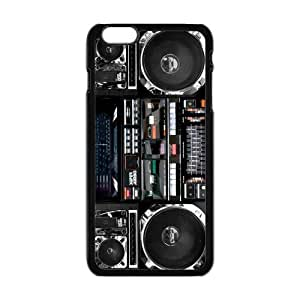 "Danny Store Hardshell Cell Phone Cover Case for New iPhone 6 Plus (5.5""), Boombox"