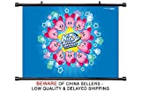 kirby mass attack - Kirby Mass Attack Nintendo DS Game Fabric Wall Scroll Poster (32 x 21) Inches