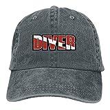 Scuba Diving Dad Hat Adjustable Denim Hat Classic Baseball Cap