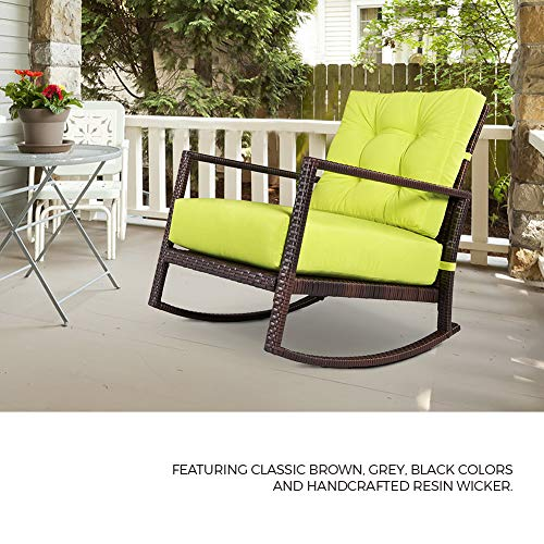 Suncrown Outdoor Furniture Patio Rocking Chair All
