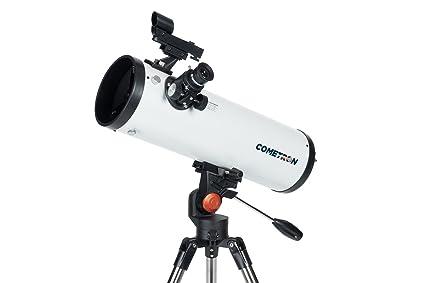 Amazon celestron cometron az telescope white