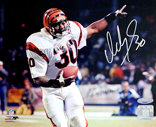 Ickey Woods Signed Autographed Cincinnati Bengals 8x10 Photo TRISTAR COA