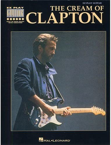 The Cream Of Clapton E-Z Play Guitar. Partituras para Acorde de ...