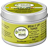 Cheap Natura Petz Organics BREAK2DOGTOPPER Break It Up! Flavored Stone Eliminator Meal Topper for All Life Stage Dogs