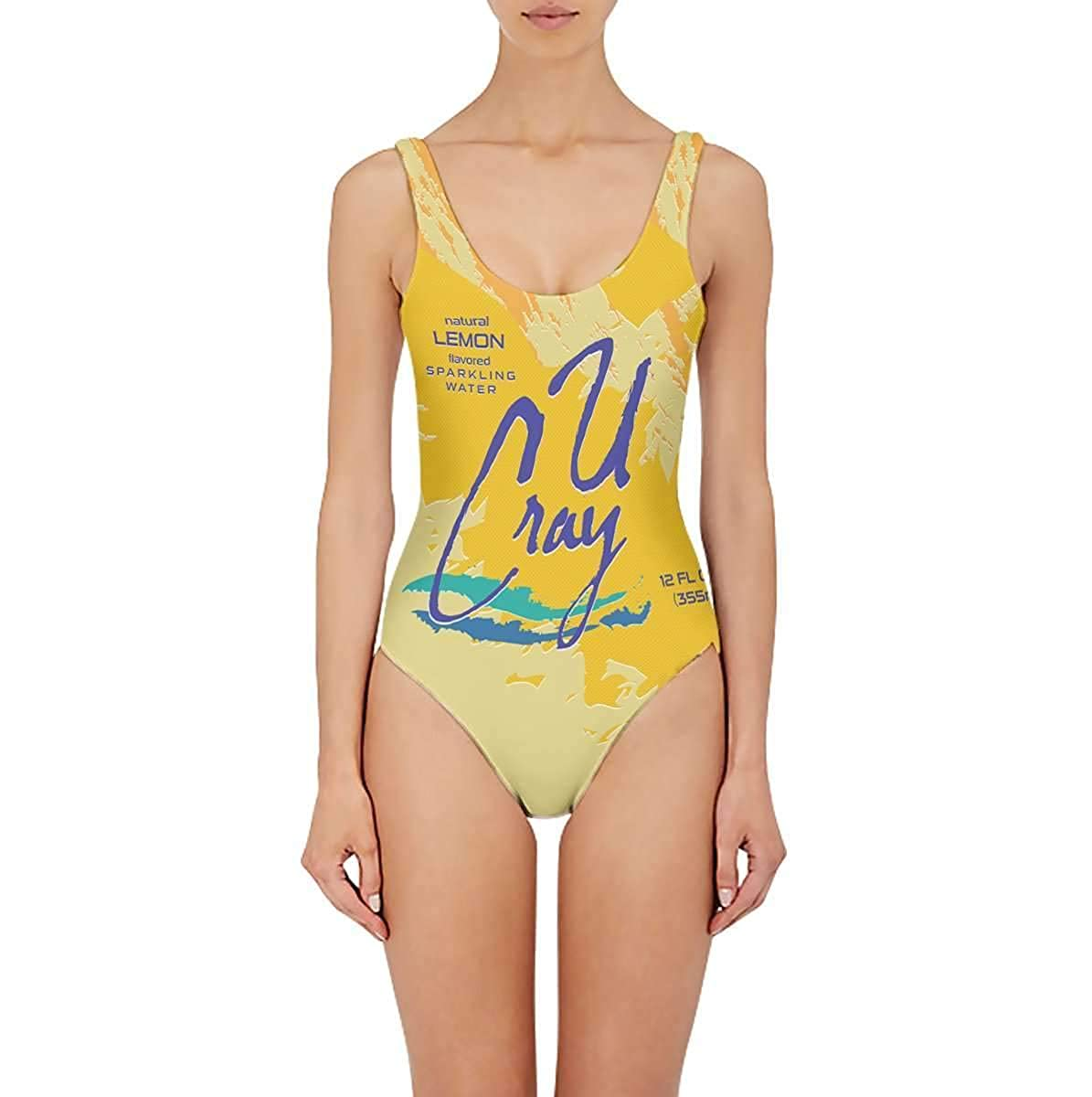 Beloved Shirts Lemon Sparkling Water One Piece Swimsuit