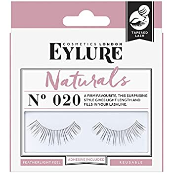 bd07537f217 Amazon.com : Eylure Naturalites Natural Volume Lashes, 020, One Pair ...