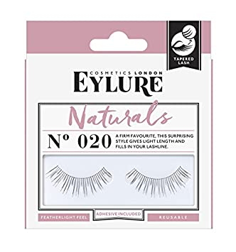 0ecc1f1e57c Amazon.com : Eylure Naturalites Natural Volume Lashes, 020, One Pair : Fake  Eyelashes And Adhesives : Beauty