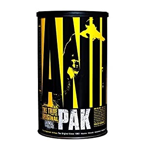 Universal Nutrition Animal Pak Sports Nutrition Supplement (Pack of 3) by Universal Nutrition