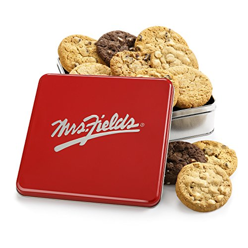 Mrs. Fields Classic Cookie Tin, (Pack of 12)