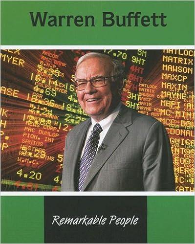 Book Warren Buffett (Remarkable People)