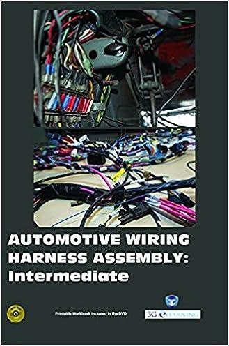 Tremendous Wiring Harness Books Wiring Diagram Database Wiring Digital Resources Tziciprontobusorg