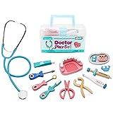 Mumu Sugar Wooden Toys Doctor Set for Kids Ages 3
