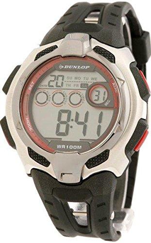 Dunlop Reloj Digital para Hombre de Automático con Correa en Caucho DUN-79-G07: Amazon.es: Relojes