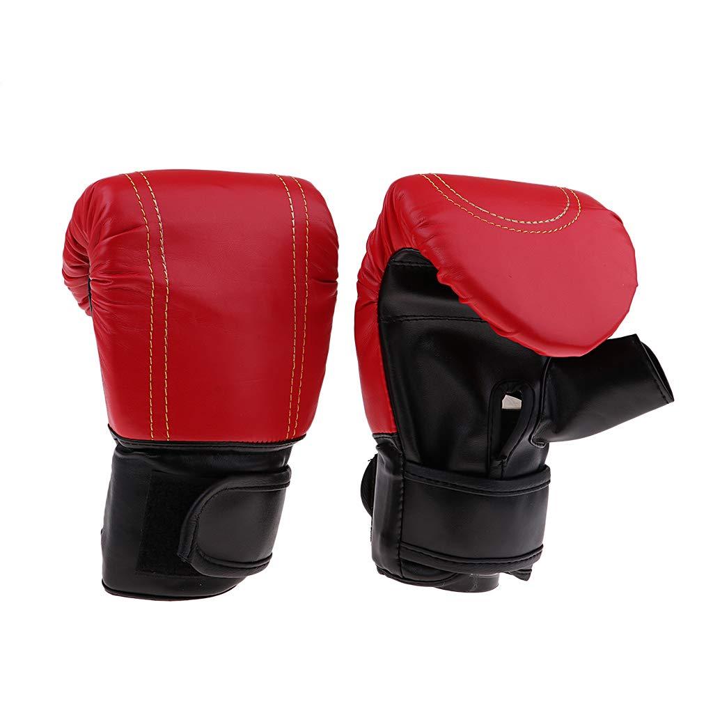 Baoblaze Frauen M/änner Boxhandschuhe Trainingshandschuhe Kickboxhandschuhe MMA Handschuhe aus PU-Leder Kampfsport Boxing Gloves