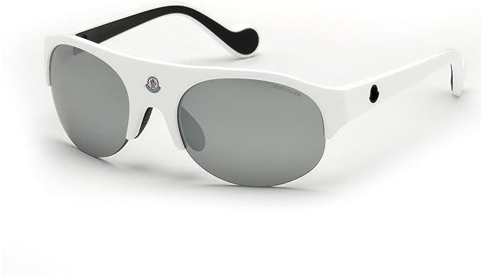 d7617f6ddb2 Sunglasses Moncler ML 0050 Quattromila 21C white   smoke mirror at ...