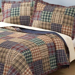 Bradley Full Queen Quilt with 2 Shams