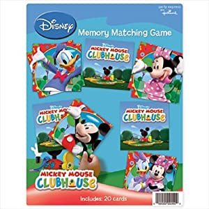Mickey Mouse Clubhouse Memory Matching Game (1ct)