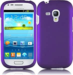 Generic Hard Cover Case for Samsung Galaxy S3 Mini - Retail Packaging - Purple