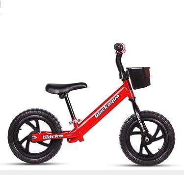 RR-Bike Bicicleta De Equilibrio para Niños De 12 Pulgadas con ...