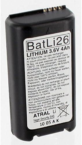 BATLI26 Bater/ía Batli26 de origen Daitem 3.6V 4Ah alarma litio DAITEM