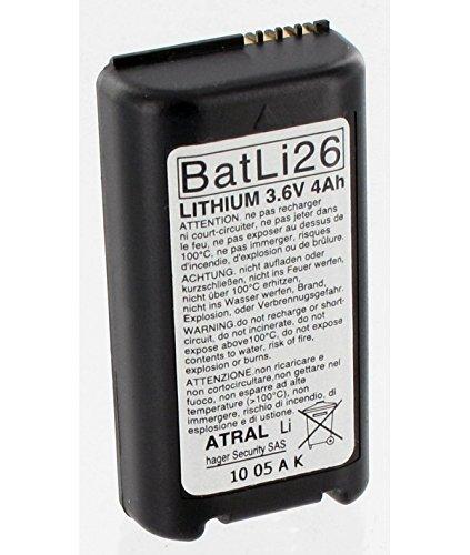 DAITEM - Battery Batli26 of origin Daitem 3.6V 4Ah alarm Lithium - BATLI26