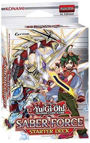 Yu Gi Oh Starter Deck Saber Force Yuya