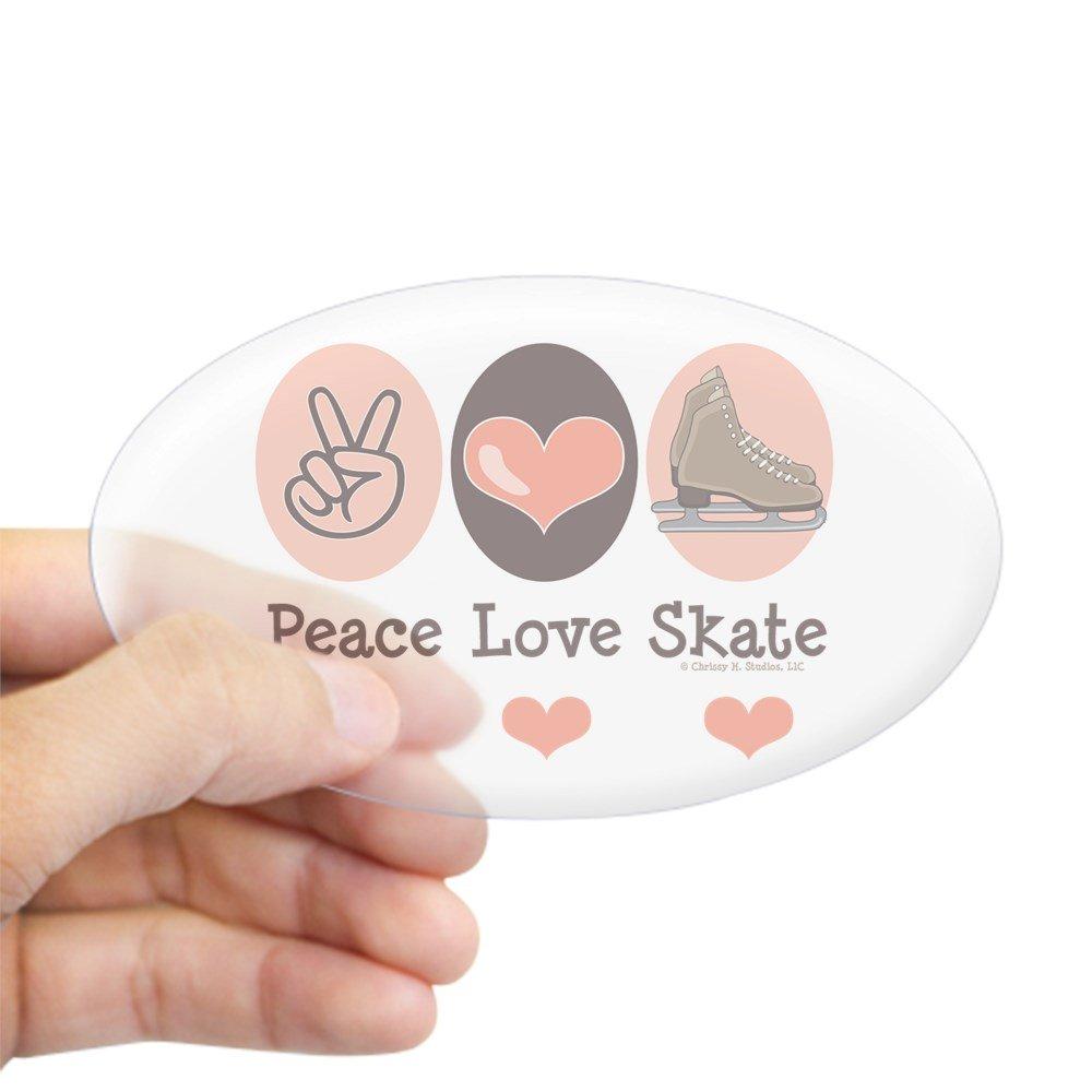 CafePress diseño de símbolo de la Paz Love Skate patinaje sobre ...