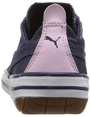 PUMA 917 Fun Denim Kids Sneaker (Little Kid/Big Kid), Peacoat/Lilac Snow/Patent/Lavender, 5.5 M US Big Kid by PUMA (Image #2)