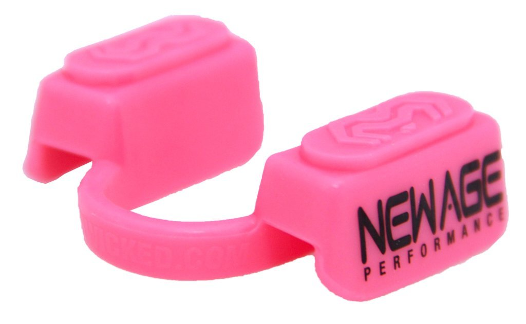 New Age Performance 5DS Sports And Fitness Cardio-Based Activities Mouthpiece - Lower Jaw - No-Contact - Pink