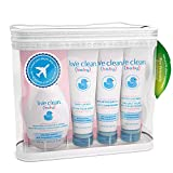 Live Clean Baby Gentle Moisture Diaper Bag Essentials Gift Set, Trial Size Baby Products
