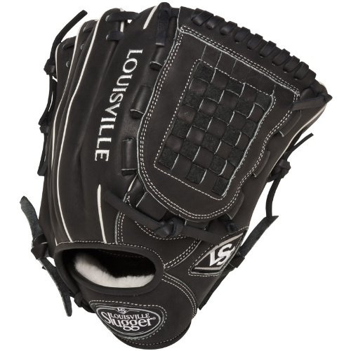 Louisville Slugger 12-Inch FG Pro Flare Baseball Infielders Gloves, Black, Right Hand Throw ()