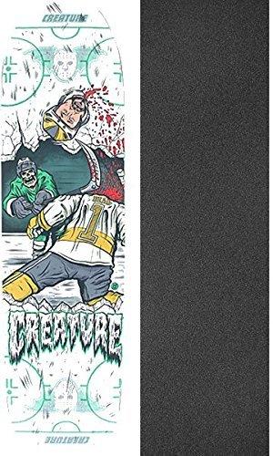 悪意頭痛めったにCreature Skateboards Slapshot MD Everslickスケートボードデッキ – 21.2