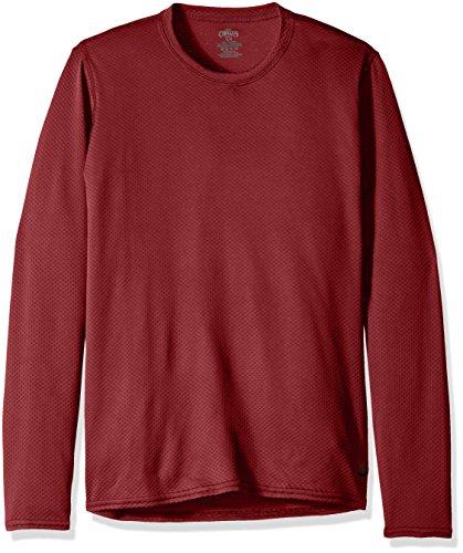Sangria Hombres Chillys Camiseta Tripulación Del Hot Geo thermal 140qv