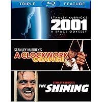 2001: A Space Odyssey / Clockwork Orange / Shining  [Blu-ray] [Importado]