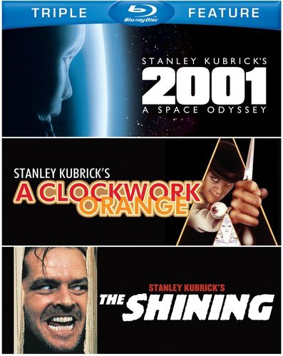 Stanley Kubrick Triple Feature (2001: A Space Odyssey / A Clockwork Orange / The Shining) [Blu-ray] (A Clockwork Orange Best Scenes)