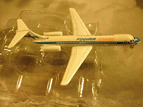 - FINNAIR Finnish Airline DC-9-42 Jet Plane 1:600 Scale Die-cast Plane Made in Germany by Schabak