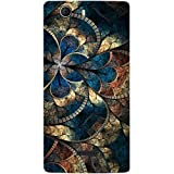 Casotec Fractional Pattern Design Hard Back Case Cover for Micromax Canvas Nitro 2 E311