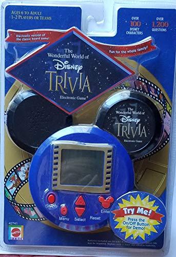 The Wonderful World of Disney Electronic Trivia Game (Wonderful World Of Disney Trivia)