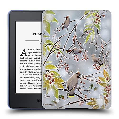 Official Chuck Black Tropical Paradise Bird Art Soft Gel Case for Amazon Kindle Paperwhite 3