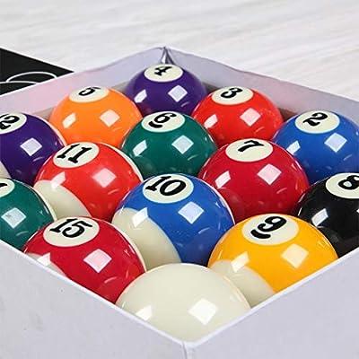 WXS Billar Americano Juego Estándar Ball 2 1/4 Pulgada (57.2mm) 16 Suministros Color Billar (Size : More Than 60 Sets): Amazon.es: Deportes y aire libre