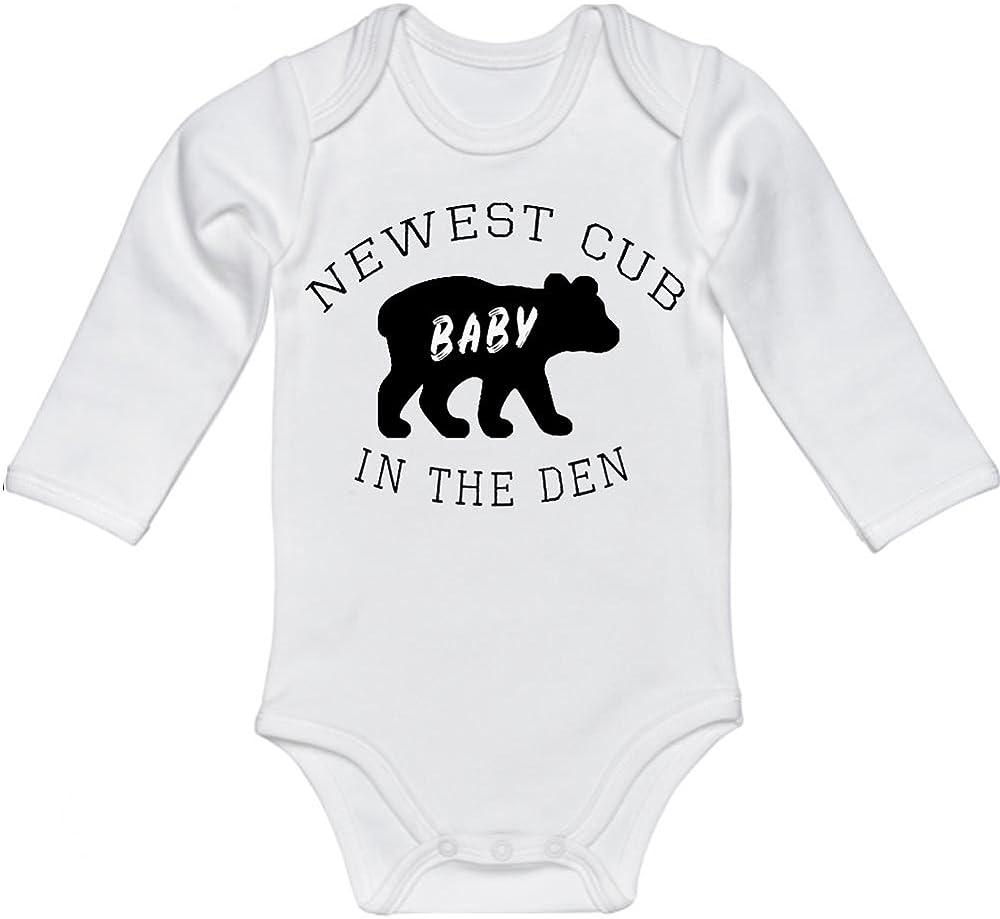 Black and Camo Baby Bear BodysuitBodysuit Cute Baby Gift