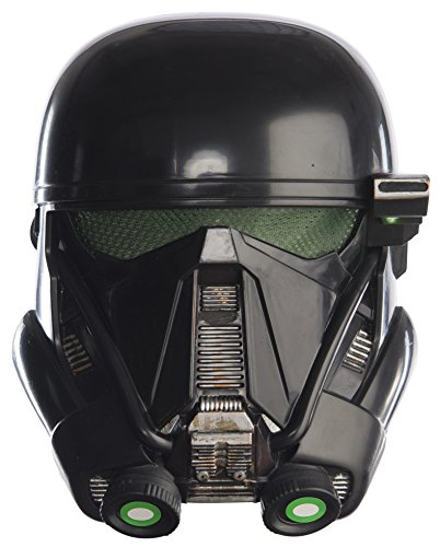 Star Wars Death Troopers Costume (Rubie's Costume Rogue One: A Star Wars Story Child's Death Trooper Half-Mask, One Size)