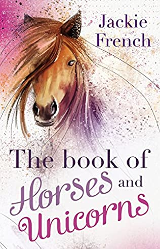 book cover of The Book of Horses and Unicorns