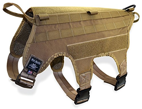Signature K9 Modular Ultimate Load Bearing Harness, Coyote Brown by Signature k-9