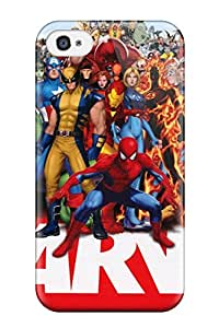 High Quality Marvel Superheroes Case For Iphone 4/4s / Perfect Case
